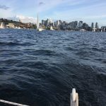 Catalina 22 I passed in a Minto! - Seattle Duck Dodge Sailboat Race in a Minto on July 16, 2019