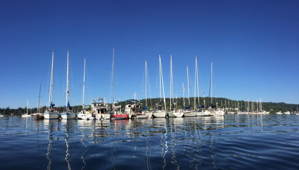 Shilsole Bay Yacht Club Raft