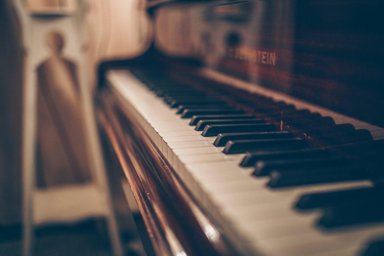 Blurry Piano keyboard